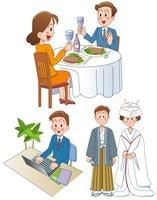 男性の仕事とデートと結婚 10173003056| 写真素材・ストックフォト・画像・イラスト素材|アマナイメージズ