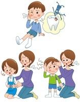 子供の病気 歯痛と頭痛と腹痛