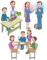 障害者雇用 視覚障害や聴覚障害のある人のビジネスシーン