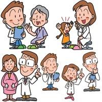 高齢者や妊婦や子供の医療と医師の説明 10173003092| 写真素材・ストックフォト・画像・イラスト素材|アマナイメージズ