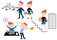 生活習慣病の予防 徒歩通勤と階段利用とストレッチ