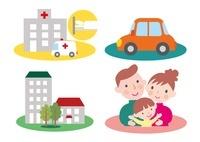 様々な保険 医療と自動車と住宅と生保