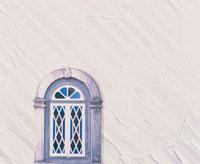 白い壁と窓