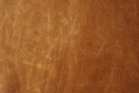 シワのある茶色の革素材