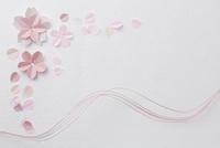 桜ペーパークラフトイメージ