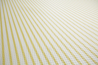 黄色と白のストライプの布