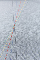 和の布の上にある五色の水引