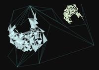三角形と直線でできた幾何学模様 10179011937  写真素材・ストックフォト・画像・イラスト素材 アマナイメージズ