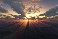 日の出 10185002257  写真素材・ストックフォト・画像・イラスト素材 アマナイメージズ