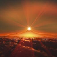 富士山の日の出 10185002297| 写真素材・ストックフォト・画像・イラスト素材|アマナイメージズ
