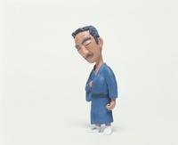 着物の中高年男性のクラフト 10186000178| 写真素材・ストックフォト・画像・イラスト素材|アマナイメージズ