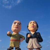 坂本竜馬と西郷隆盛のクラフト