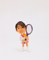クラフト テニスをする人