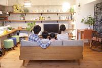リノベーションマンションに暮らす若い4人家族
