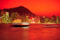 香港の夜景 10193000693| 写真素材・ストックフォト・画像・イラスト素材|アマナイメージズ
