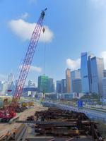 都市開発の工事現場 10193002434| 写真素材・ストックフォト・画像・イラスト素材|アマナイメージズ