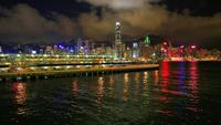 香港ヴィクトリア湾の夜景