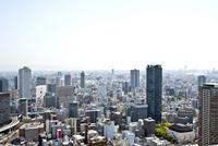 梅田ビル群と大阪市街