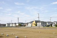 住宅建設予定地 10206001260| 写真素材・ストックフォト・画像・イラスト素材|アマナイメージズ
