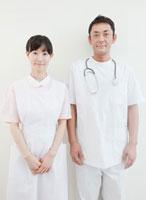 医師と看護師のポートレート