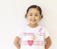 6歳の女の子のポートレート
