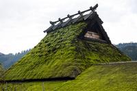 美山かやぶきの里,茅葺屋根 10222007385| 写真素材・ストックフォト・画像・イラスト素材|アマナイメージズ