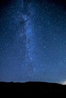 霧ヶ峰高原富士見台より北東方向夏の星空