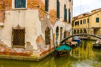 ヴェネツィア運河と街並み
