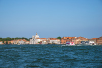 運河からヴェネツィア都市風景
