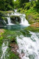 渋川渓谷おしどり隠しの滝
