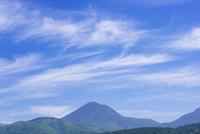 蓼科山にすじ雲