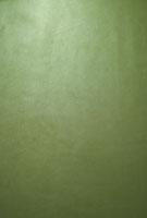 緑色のレザー生地