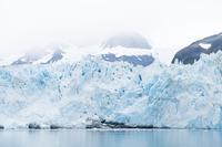アラスカの氷河