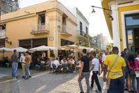 キューバ ハバナ市街のレストラン