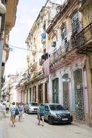 キューバのハバナの市街