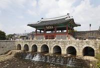 Hwahongmun Gate, Hwaseong Fortress, Suwon, Korea