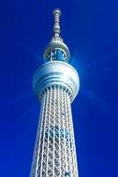 輝く東京スカイツリー 10247001881| 写真素材・ストックフォト・画像・イラスト素材|アマナイメージズ