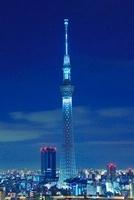 東京スカイツリーのライトアップ 10247003532| 写真素材・ストックフォト・画像・イラスト素材|アマナイメージズ