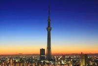 東京スカイツリー,朝 10247003554| 写真素材・ストックフォト・画像・イラスト素材|アマナイメージズ