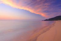 渚と夕焼け