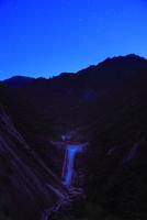 千尋滝と星空