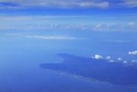 州崎と富士山,空撮