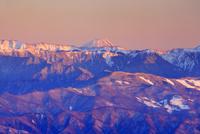 千畳敷カールから望む富士山の夕景