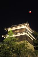 皆既月食と上田城の南櫓