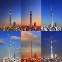 東京スカイツリーの一日 10247018566| 写真素材・ストックフォト・画像・イラスト素材|アマナイメージズ
