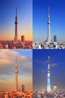 東京スカイツリーの一日 10247018567| 写真素材・ストックフォト・画像・イラスト素材|アマナイメージズ