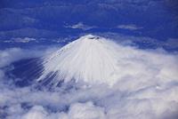 富士山と河口湖空撮