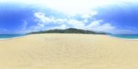 永田いなか浜のVRパノラマ 10247019793| 写真素材・ストックフォト・画像・イラスト素材|アマナイメージズ