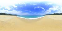 永田いなか浜のVRパノラマ 10247019816| 写真素材・ストックフォト・画像・イラスト素材|アマナイメージズ