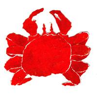 イラスト 蟹